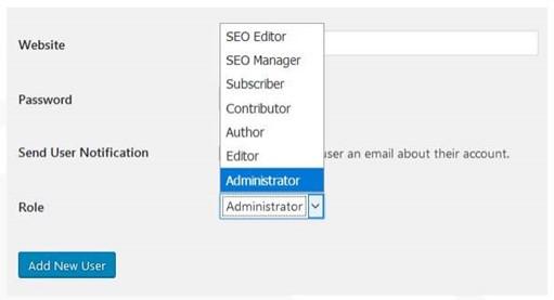 Change Admin Default Username