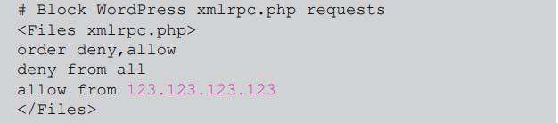 XML-RPC manually
