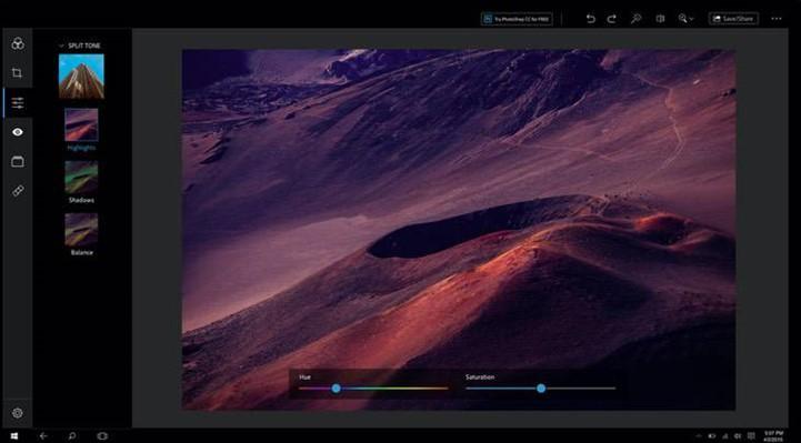 Editor Adobe Photoshop Express
