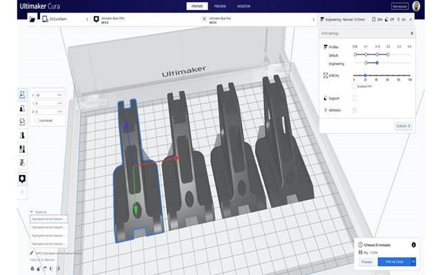 3d printing softwares-Ultimaker-Cura